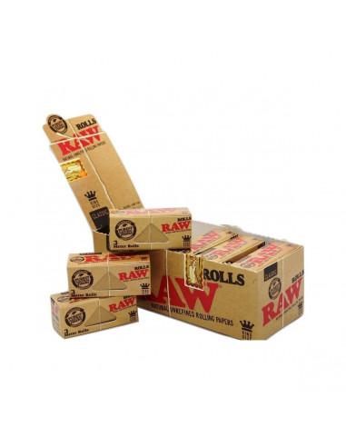 Papel de Fumar Raw Rolls Classic ( 12...