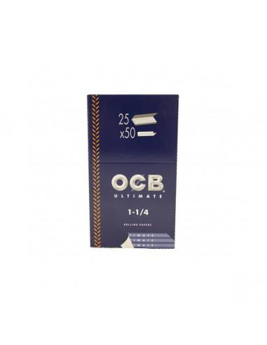 Papel de Fumar OCB Ultimate 1 1/4...