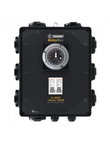 Controlador temporizador RELÉ 4 x 600w