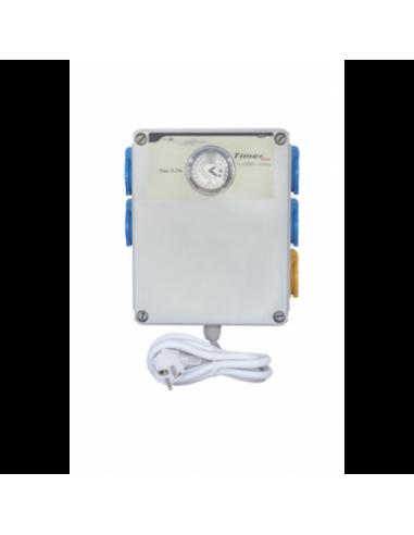 Caja de conexión con temporizador 4x600w