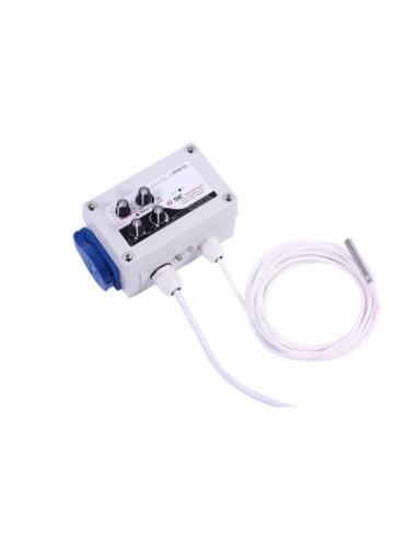 Regulador histéresis y temperatura