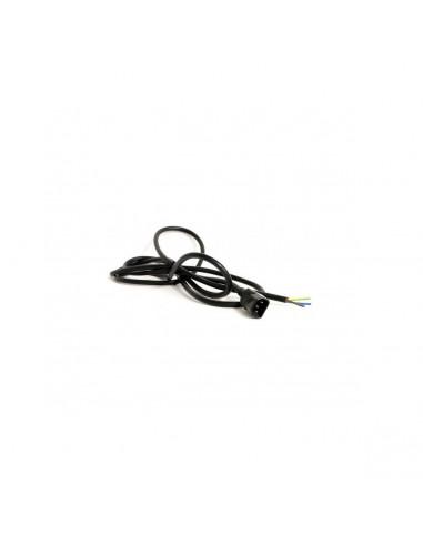 Cable 3x1.5mm Clavija IEC Macho C14